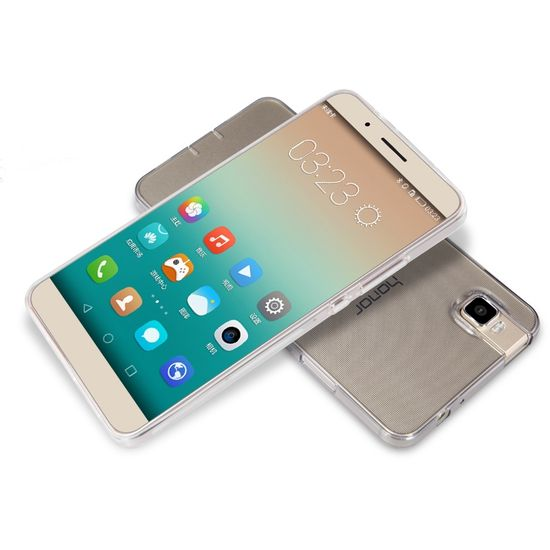 Nillkin pouzdro Nature TPU pro Huawei Honor 7, šedé