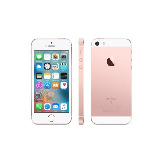 Apple iPhone SE 64GB, růžový