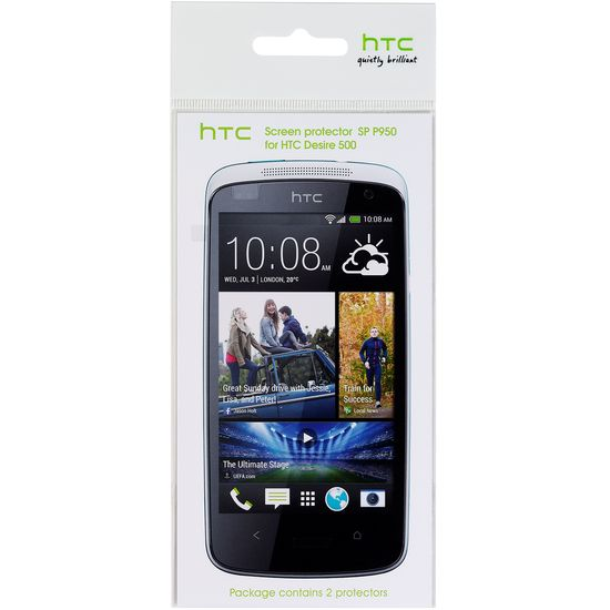 HTC ochranná fólie SP P960 pro HTC Desire 300 (2ks)