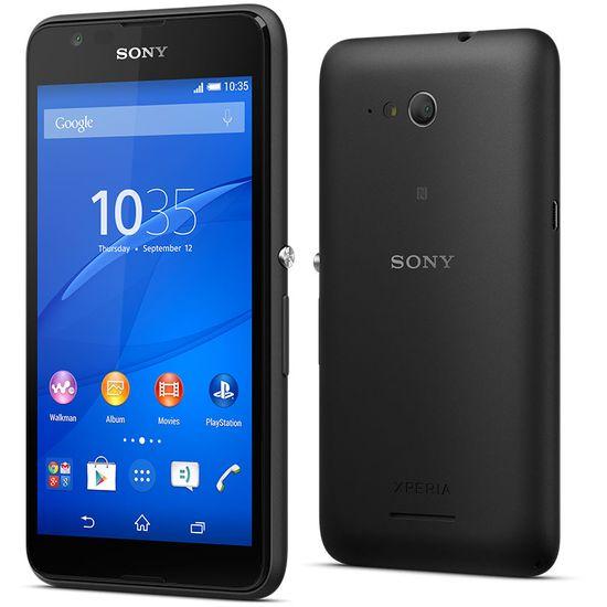 Sony Xperia E4g LTE E2003, černá