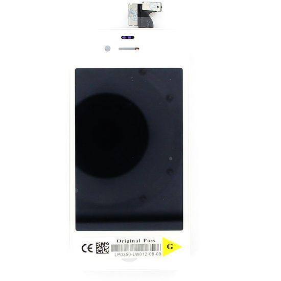 Náhradní díl LCD displej + dotyková vrstva na Apple iPhone 4G, bílá