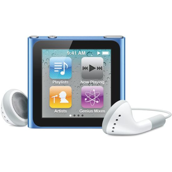 Apple iPod Nano 7th - 16GB (modrá)