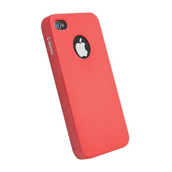 Krusell hard case - ColorCover - Apple iPhone 4/iPhone 4S (červená)