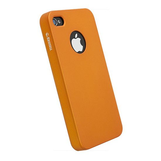 Krusell hard case - ColorCover - Apple iPhone 4/iPhone 4S (oranžová)