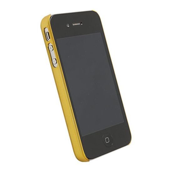 Krusell hard case - ColorCover - Apple iPhone 4/iPhone 4S (žlutá)