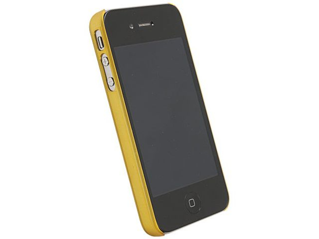 obsah balení Krusell hard case - ColorCover - Apple iPhone 4/iPhone 4S (žlutá)