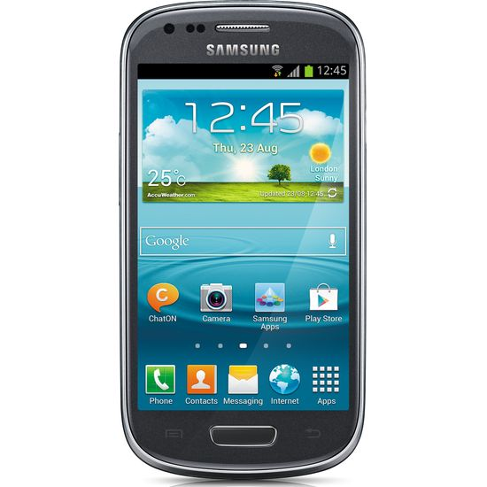 Samsung i8200 GALAXY S III mini VE, šedý