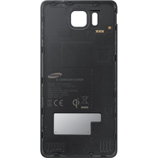 Samsung zadní kryt pro bezdrátové nabíjení EP-CG850IB pro Galaxy Alpha, černá