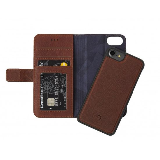 Decoded Leather 2in1 Wallet pouzdro pro Apple iPhone 8/7/6S hnědé