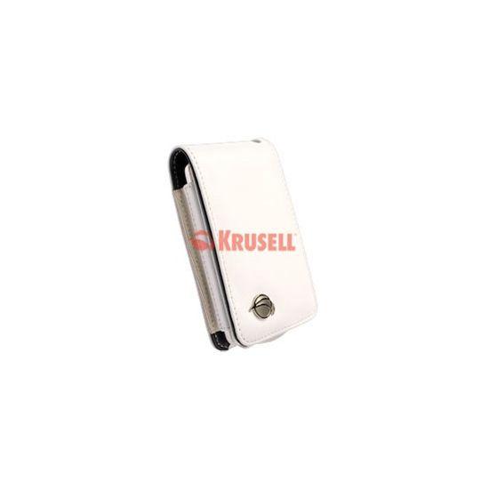Krusell pouzdro Music - Apple iPod Classic  bílá/černá