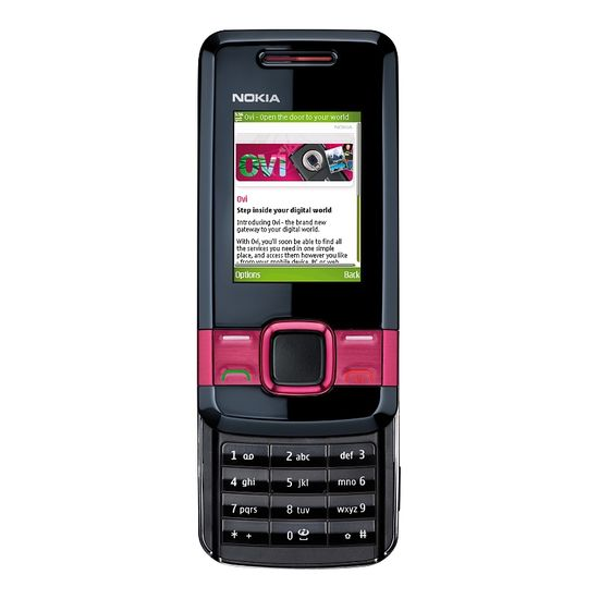 NOKIA 7100 supernova Red