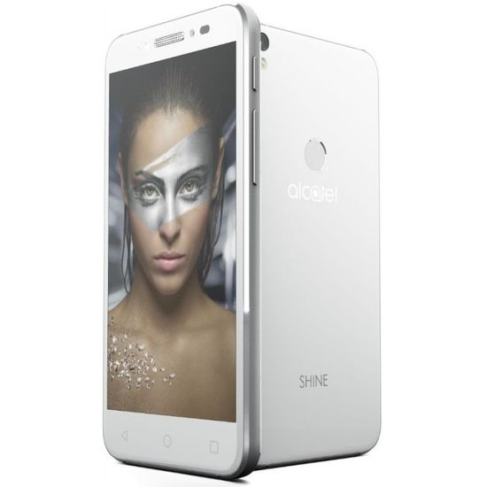 ALCATEL SHINE LITE 5080X, full white