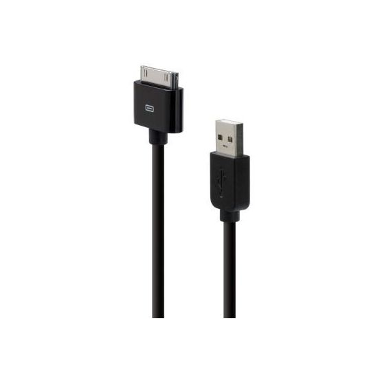 Belkin USB kabel pro Apple iPhone/iPad/iPod, černý