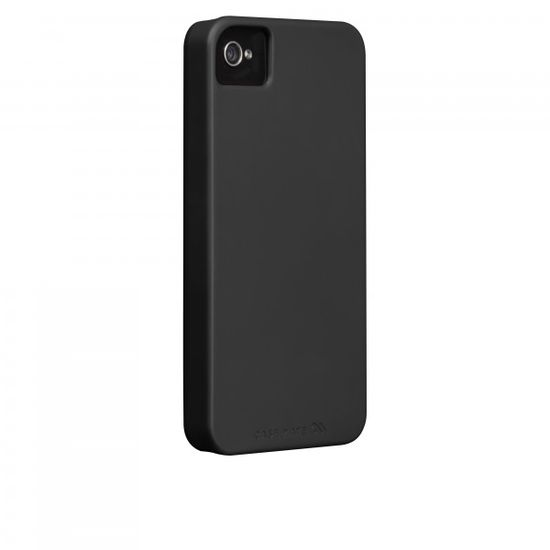 Case Mate pouzdro Barely There - Black (Rubber) pro iPhone 4/4S