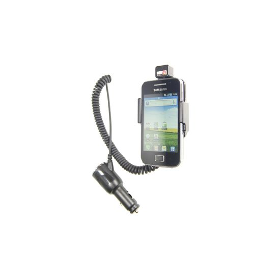 Brodit držák do auta na Samsung Galaxy Ace bez pouzdra, s nabíjením z cig. zapalovače
