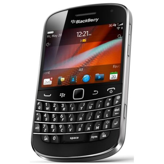 BlackBerry 9900 Bold Charcoal Black QWERTY