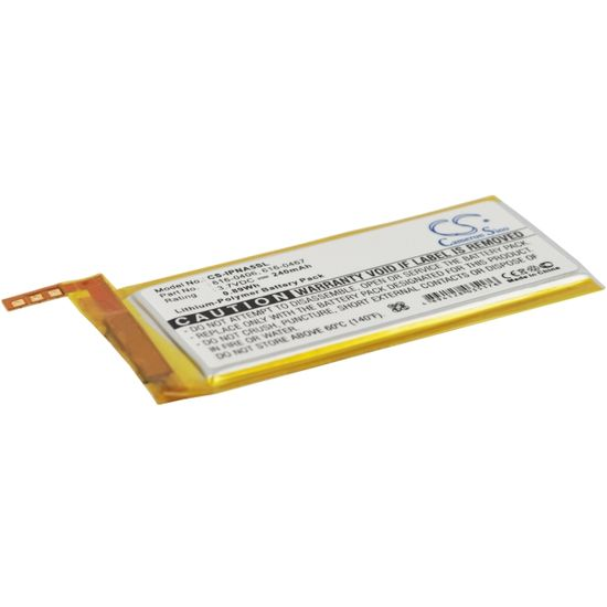 Baterie pro Apple iPod Nano 5th (ekv.616-0406) 240mAh, Li-pol