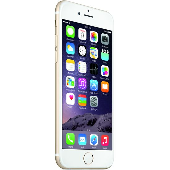 Apple iPhone 6 plus 128GB, zlatý