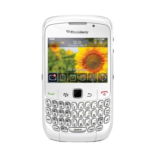 BlackBerry 9300 White QWERTY