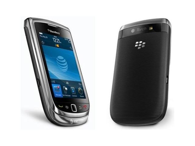 obsah balení BlackBerry 9810 Torch, Black QWERTY + autonabíječka BlackBerry CL 12V na microUSB