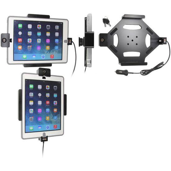 Brodit držák do auta na Apple iPad Air v pouzdru Otterbox, s nabíjením z CL/USB,se zámkem