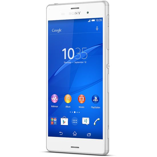 Sony Xperia Z3 Single SIM D6603, bílá
