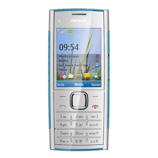 Nokia X2-00 Blue