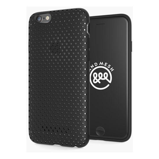 AndMesh ochranný kryt pro Apple iPhone 6/6s, černý