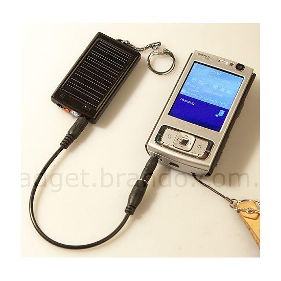 Záložní solární nabíječka Brando na klíče - Nokia, SE, HTC, E-ten, HP, Mio, Samsung