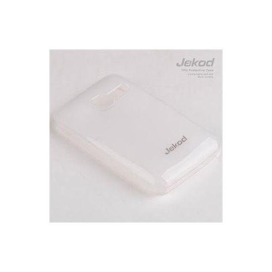 Jekod TPU silikonový kryt Alcatel 4010D T´Pop, bílá