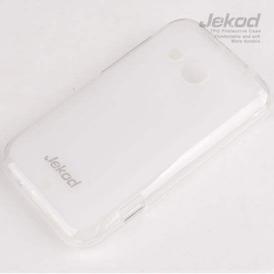 Jekod TPU silikonový kryt HTC Desire 200, bílá