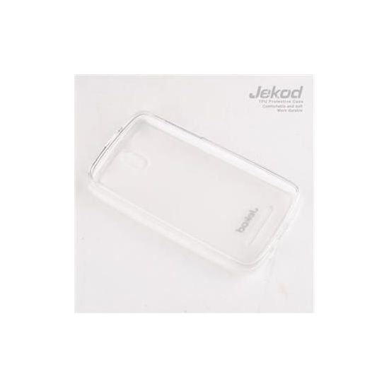 Jekod TPU silikonový kryt HTC Desire 500, bílá