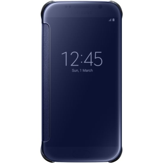 Samsung flipové pouzdro Clear View EF-ZG920BB pro Galaxy S6, černá