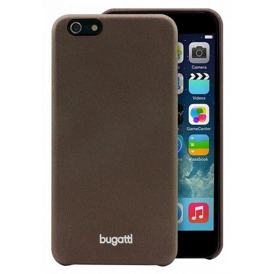 Bugatti zadní kryt SoftCover Nice pro Apple iPhone 6 plus 5.5, hnědá