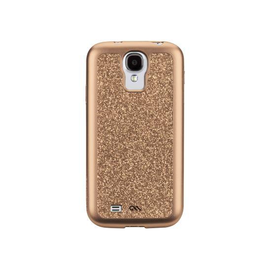 Case Mate Premium Glam pro Samsung Galaxy S4 - champagne