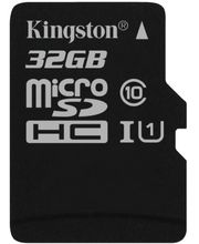 Kingston microSDHC 32GB Class 10/UHS-I, zápis 10MB/s + SD adaptér
