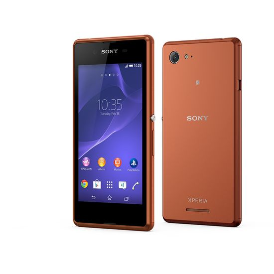 Sony Xperia E3 D2203, copper