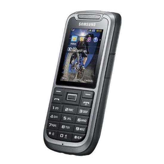 Samsung C3350 Xcover 335 Steel gray