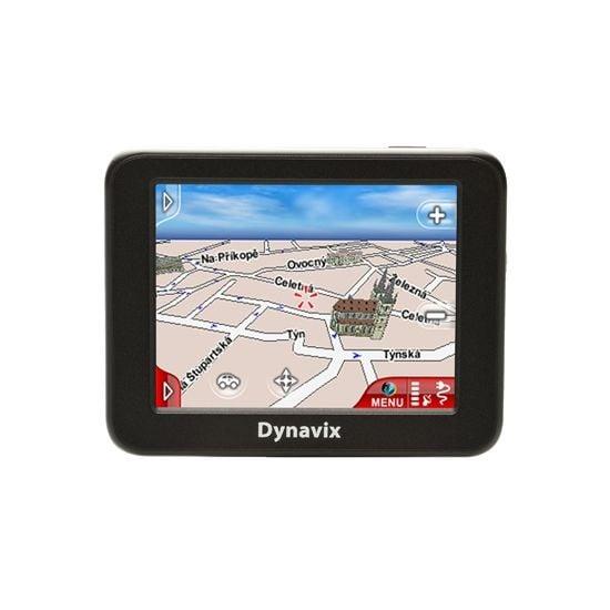 """DYNAVIX ATTO Evropa 43 států EU/3,5""""LCD/ microSD + aktivní držák"""
