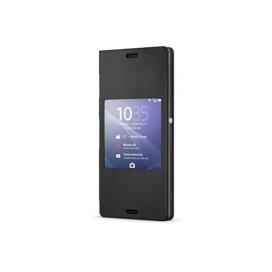 Sony flipové pouzdro Style Cover SCR24 pro Xperia Z3, černá