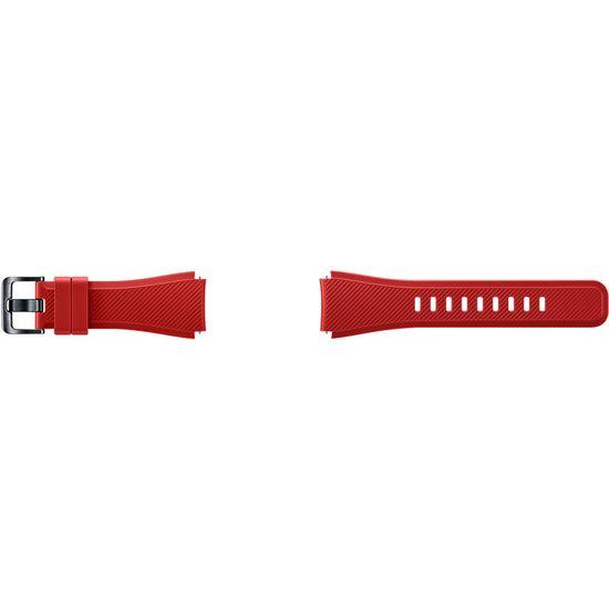 Samsung silikonový řemínek ET-YSU76MREG pro Gear S3, vel. M, červený