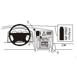 Brodit ProClip montážní konzole pro Toyota 4Runner 99-02