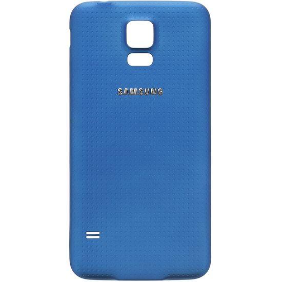 Náhradní díl kryt baterie na Samsung G900 Galaxy S5, modrá