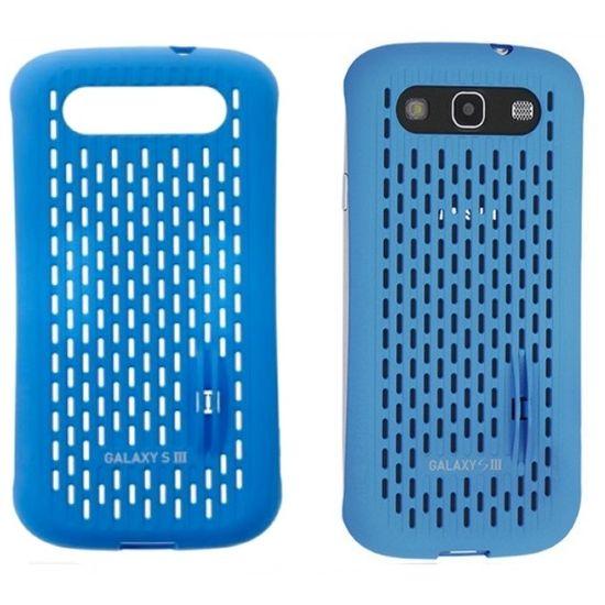 Náhradní díl originální zadní kryt SAMGSVCBL na Samsung i9300 Galaxy S III, modrý