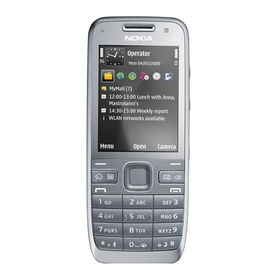 NOKIA E52 Metal Grey + Handsfree BH-105