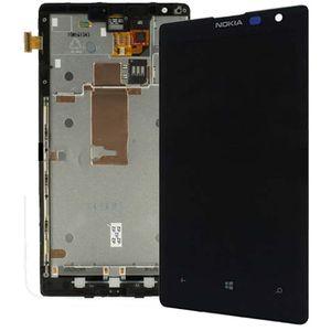 Náhradní díl LCD Display + Dotyková Deska na Nokia Lumia 1520 černá