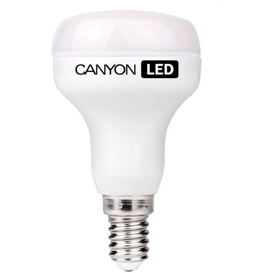 Canyon LED žárovka, (ekv. 40W) E14, reflektor, mléčná, 6W, 470 lm, teplá bílá 2700K
