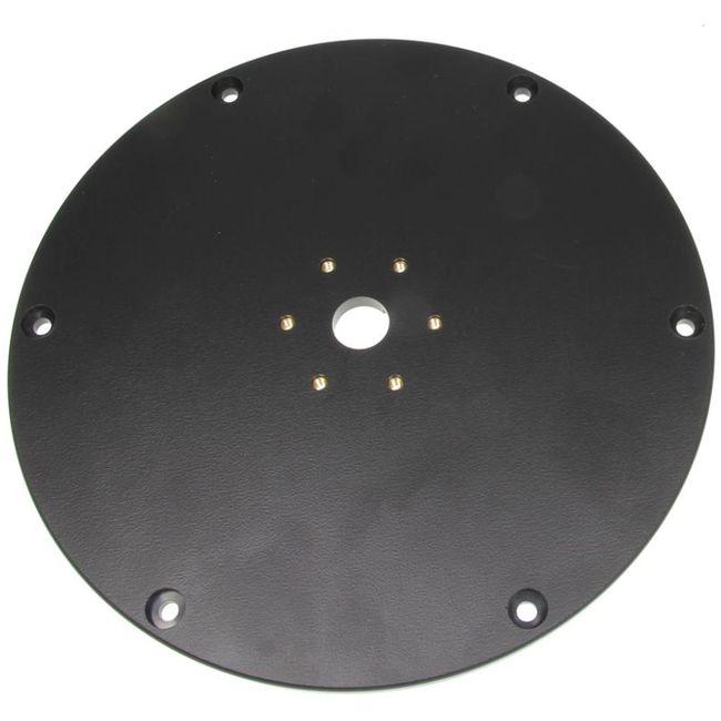 Brodit montážní podložka pro podstavec, průměr 250mm, 6 montážních otvorů, černá
