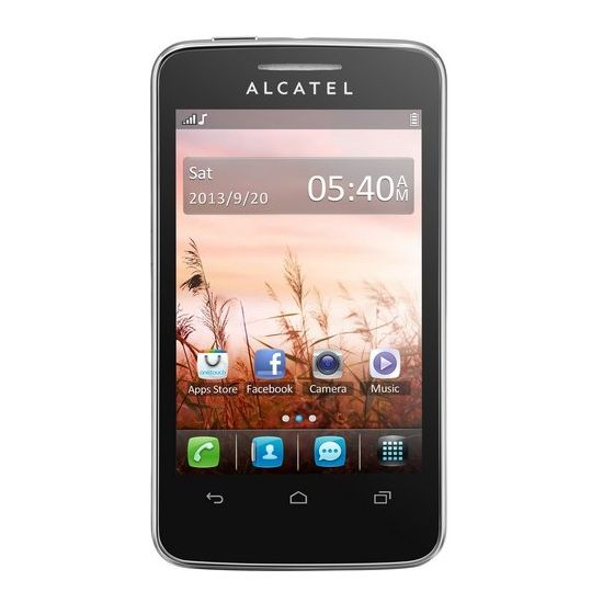 Alcatel One Touch 3040D Tribe Dual SIM černá + Powerbanka 5600mAh
