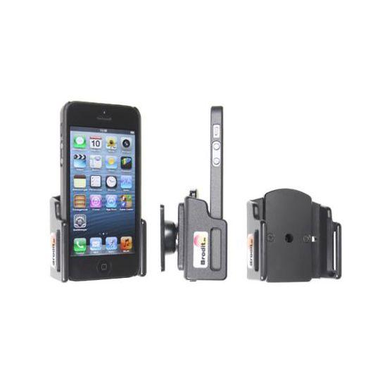 Brodit držák do auta pro Apple iPhone 5 s tenkým pouzdrem + adaptér pro snadné odebrání držáku z proclipu
